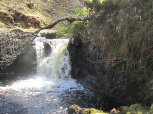 Waterfall at Eas na Coille