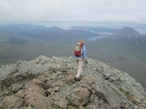 The end of the ridge - Sgurr a Bhasteir