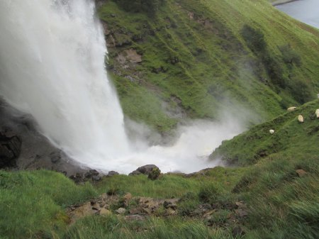 Bearraraig Waterfall - Spray