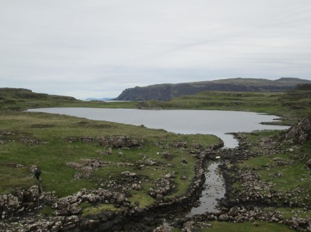 Loch na h-Airde and Stone Canal