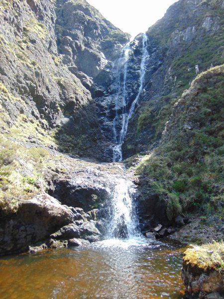 Glen Scamadal gorge