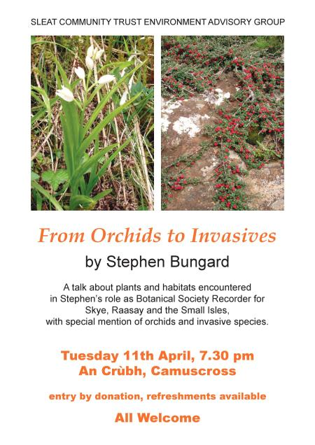 Orchids to Invasives Poster