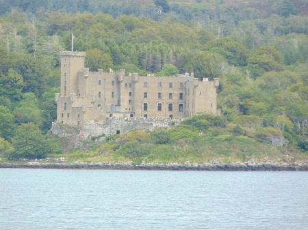 Dunvegan Castle from Uiginish Point