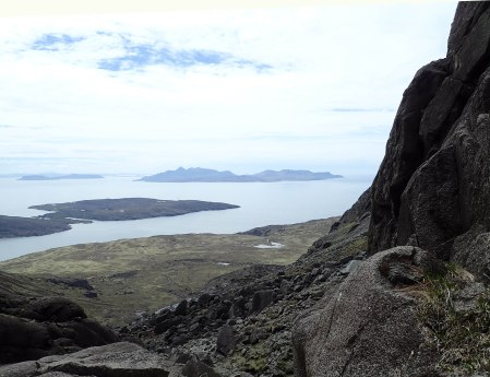 Islands from Coir a' Ghrunnda